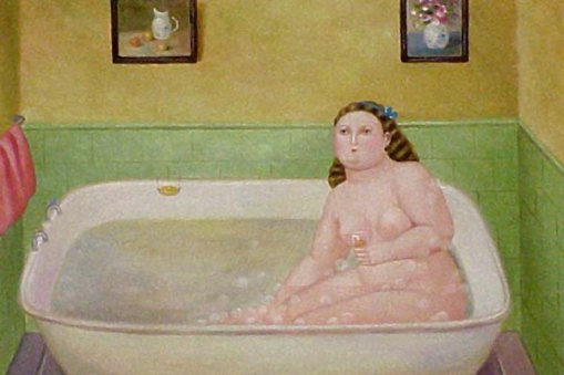 """""""Ванна с шампанским"""", неизвестный художник"""