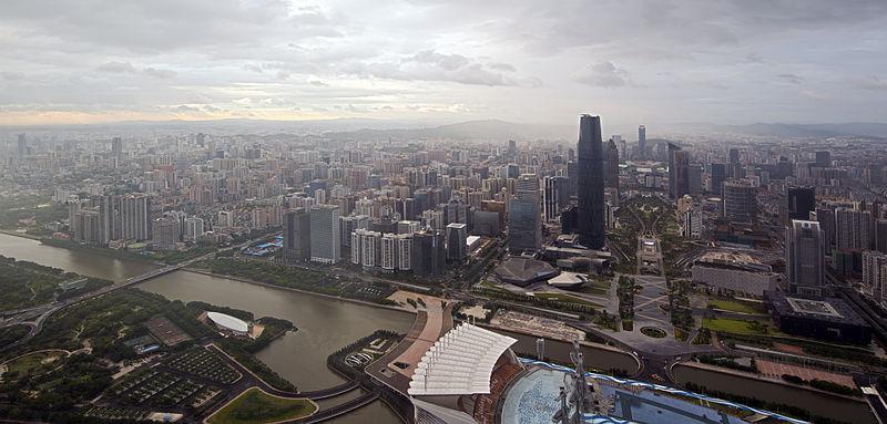 Панорама Гуанчжоу, фото: chensiyuan, wikimedia.org