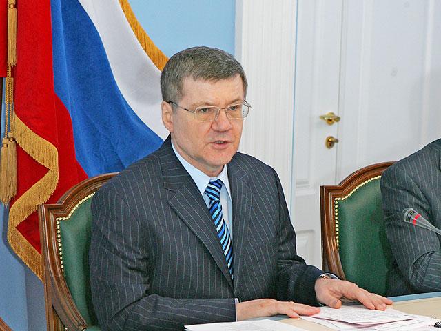 Генеральный прокурор РФ Юрий Чайка. Фото с сайта genproc.gov.ru.